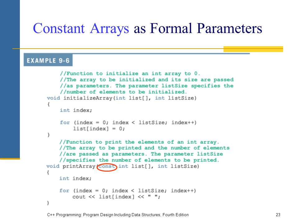Chapter 9 Arrays And Strings Ppt Video Online Download