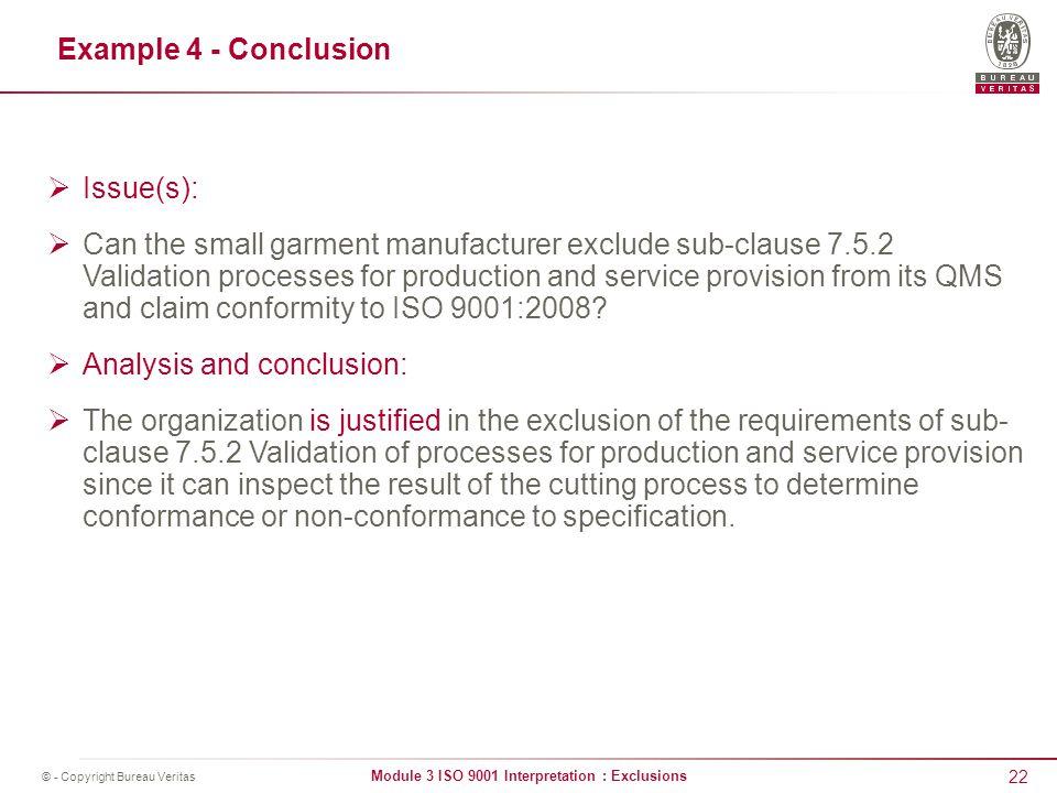 Iso 9001 non conformance procedure example