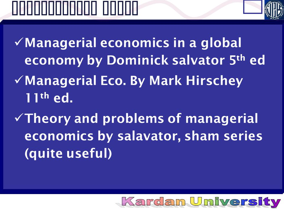 Managerial Economics In Global Economy 5th Edition By