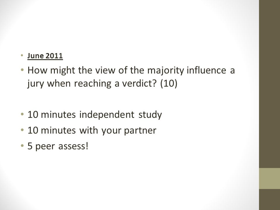 10 minutes independent study 10 minutes with your partner