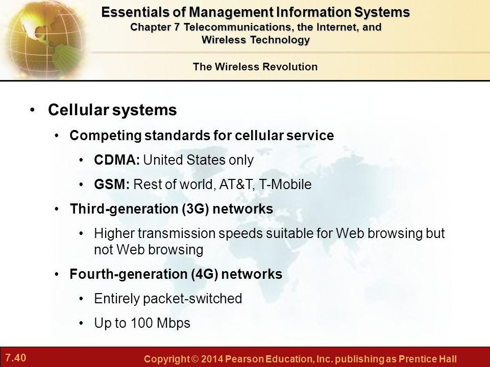 Telecommunications, the Internet, and Wireless Technology ...