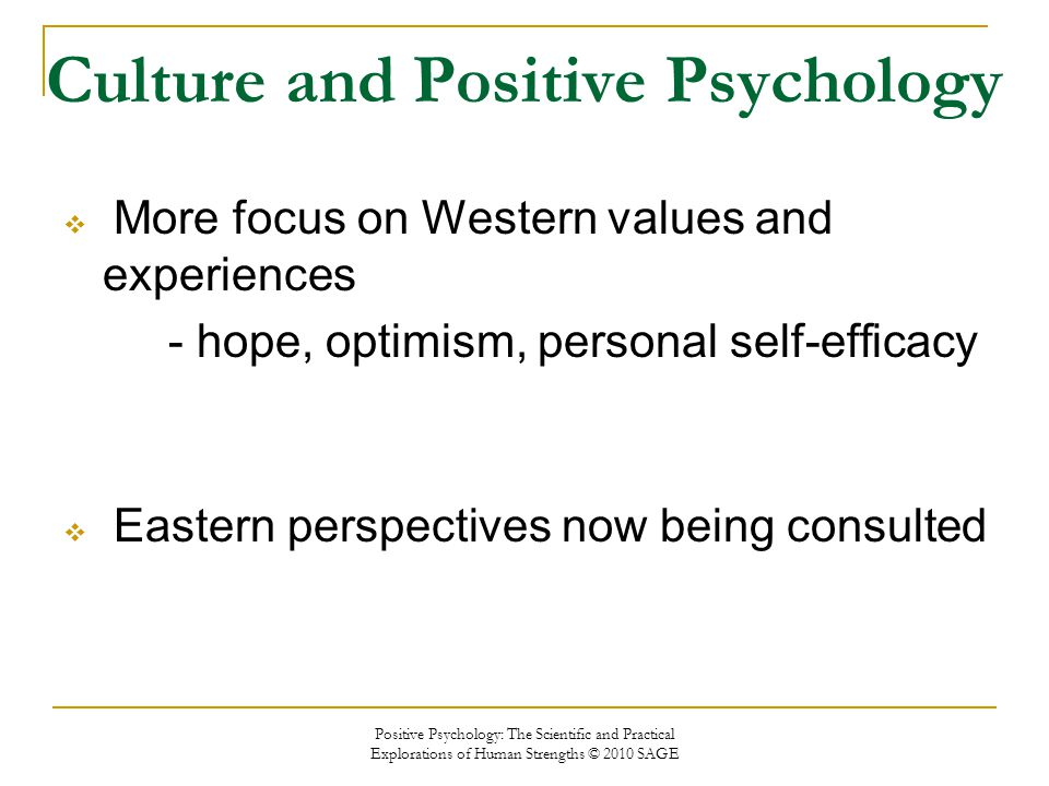 Practical Perspectives Positive Lives >> Eastern And Western Perspectives On Positive Psychology Ppt Video