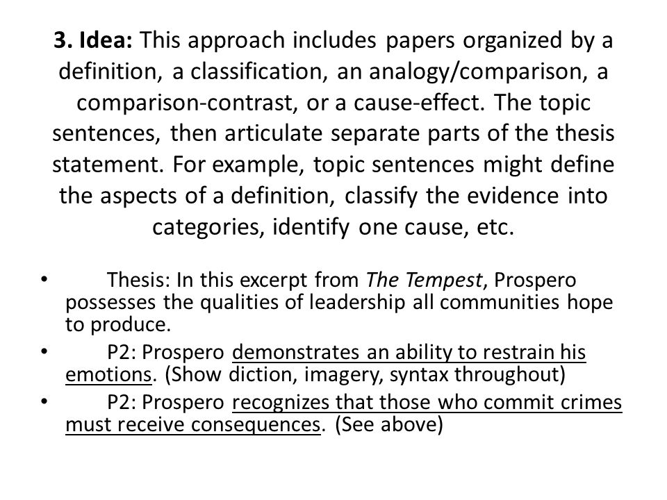 cause and effect thesis statement examples