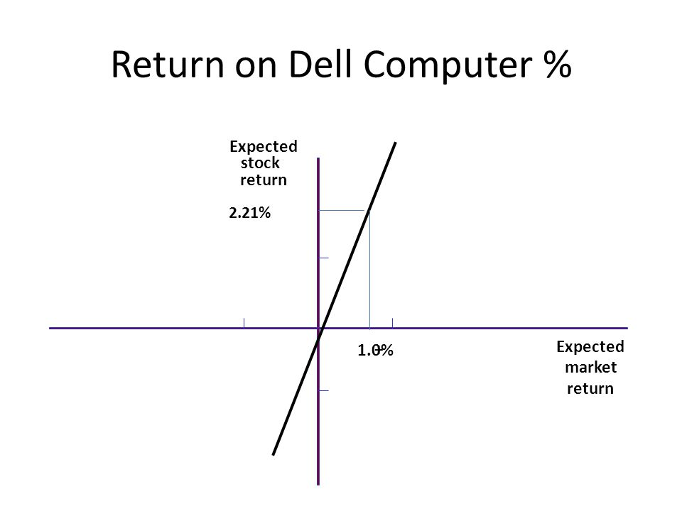 Return on Dell Computer %