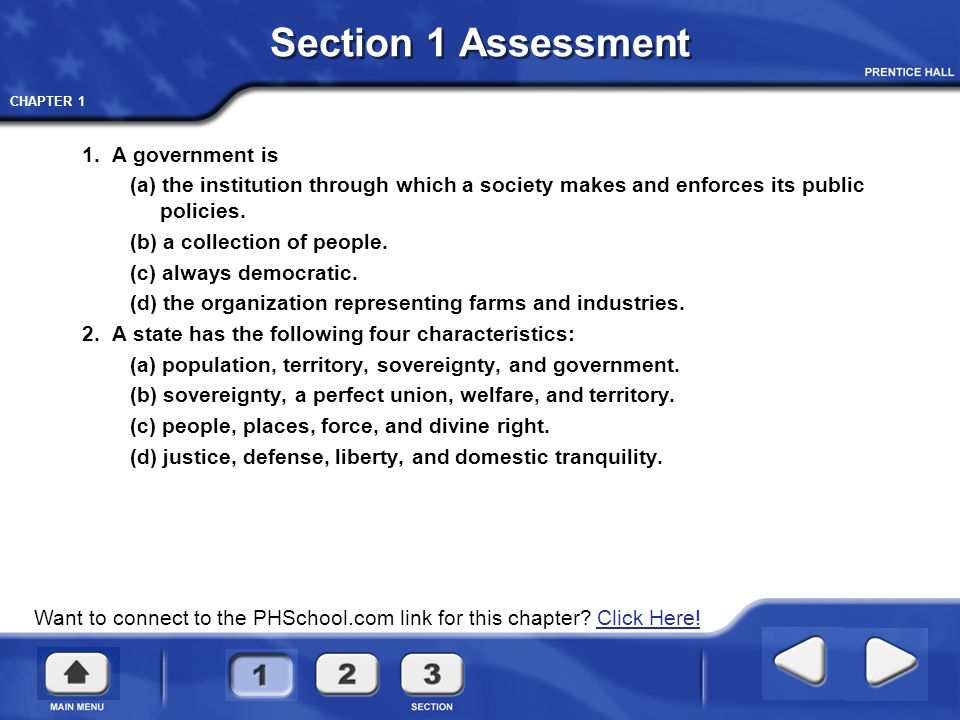 Government And The State Questions And Terms Chapter 1