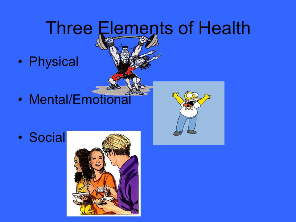 Three Elements of Health