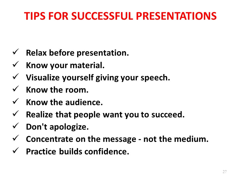 Powerpoint presentation guidelines tips on making and giving.