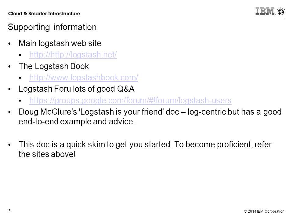 Using Logstash for PI Robert Mckeown Dec 12, ppt video online download