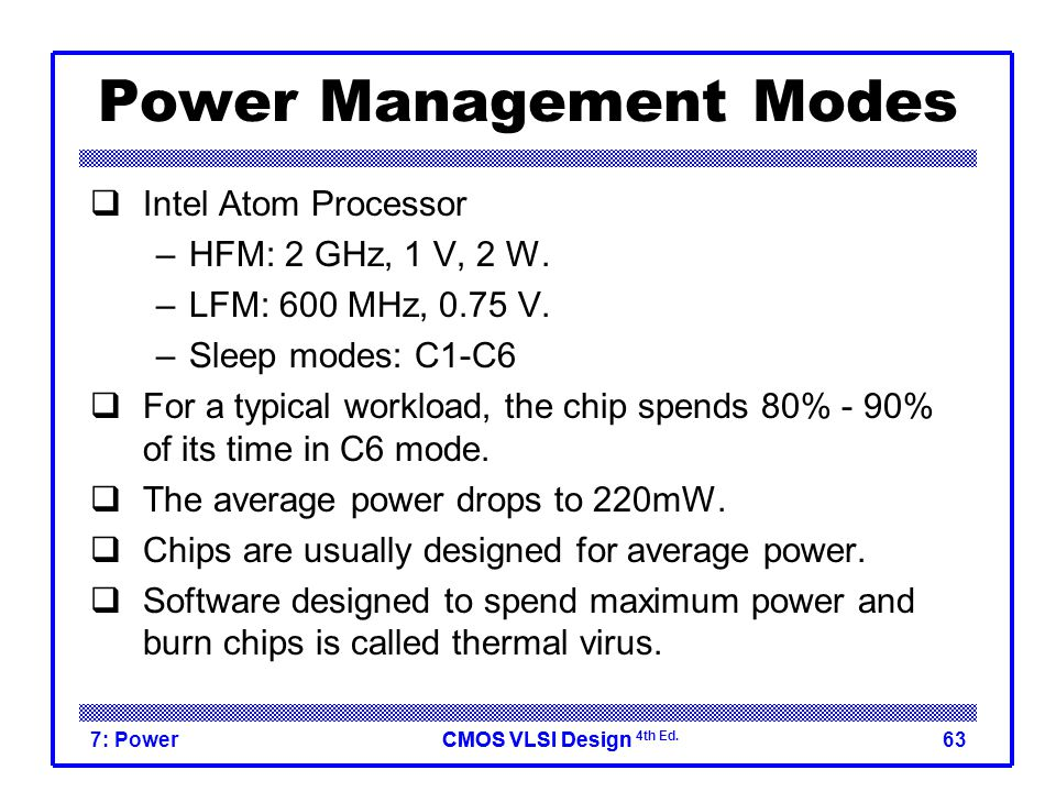 Lecture 7: Power  - ppt video online download