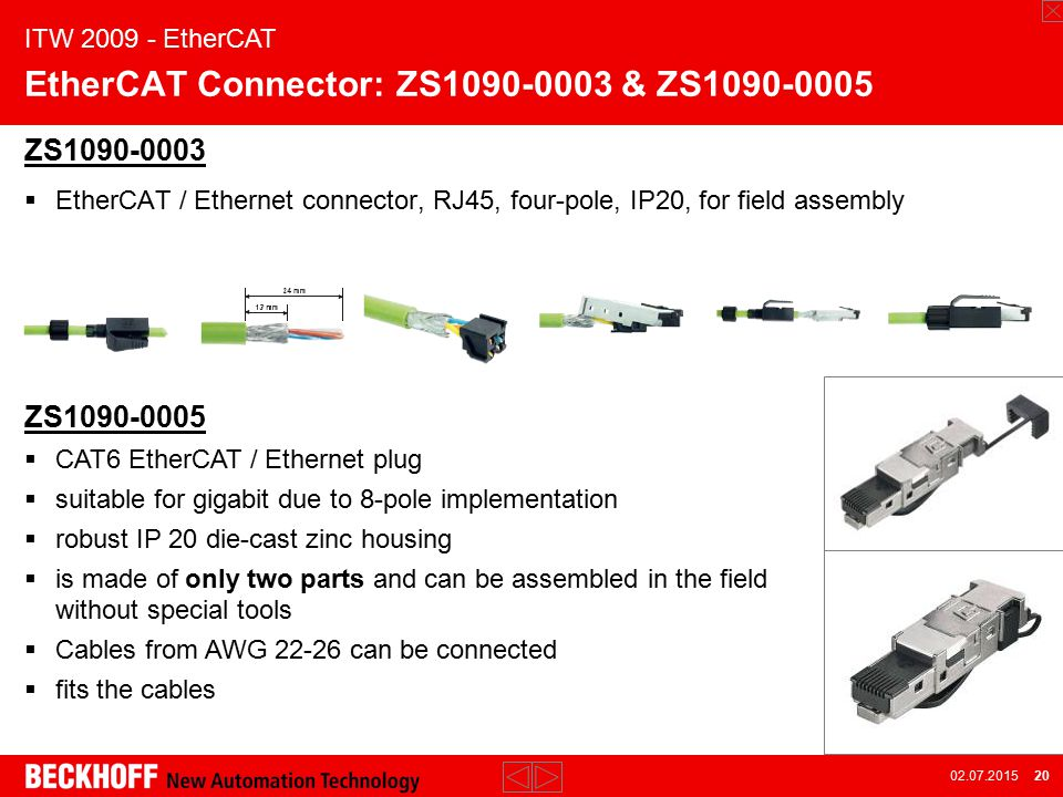 ITW: EtherCAT ppt video online download