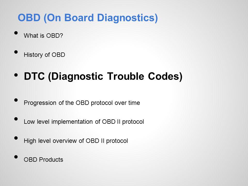On Board Diagnostics OBD - ppt video online download
