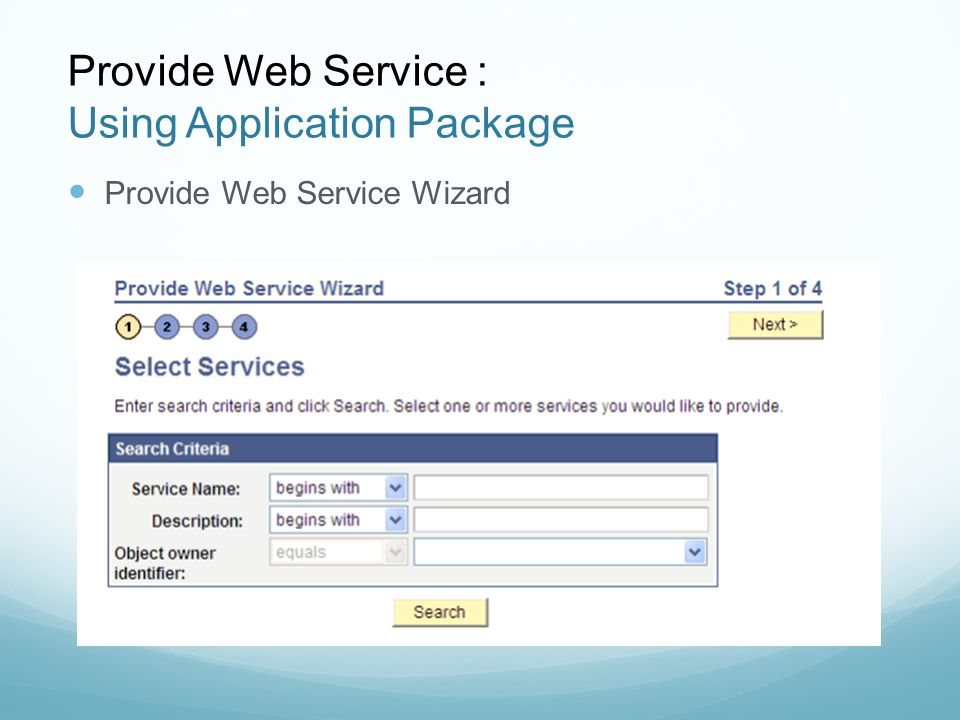 Peoplesoft: Building and Consuming Web Services - ppt video online