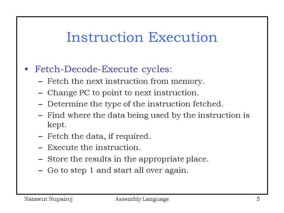 Fetch execute cycle simulation dating