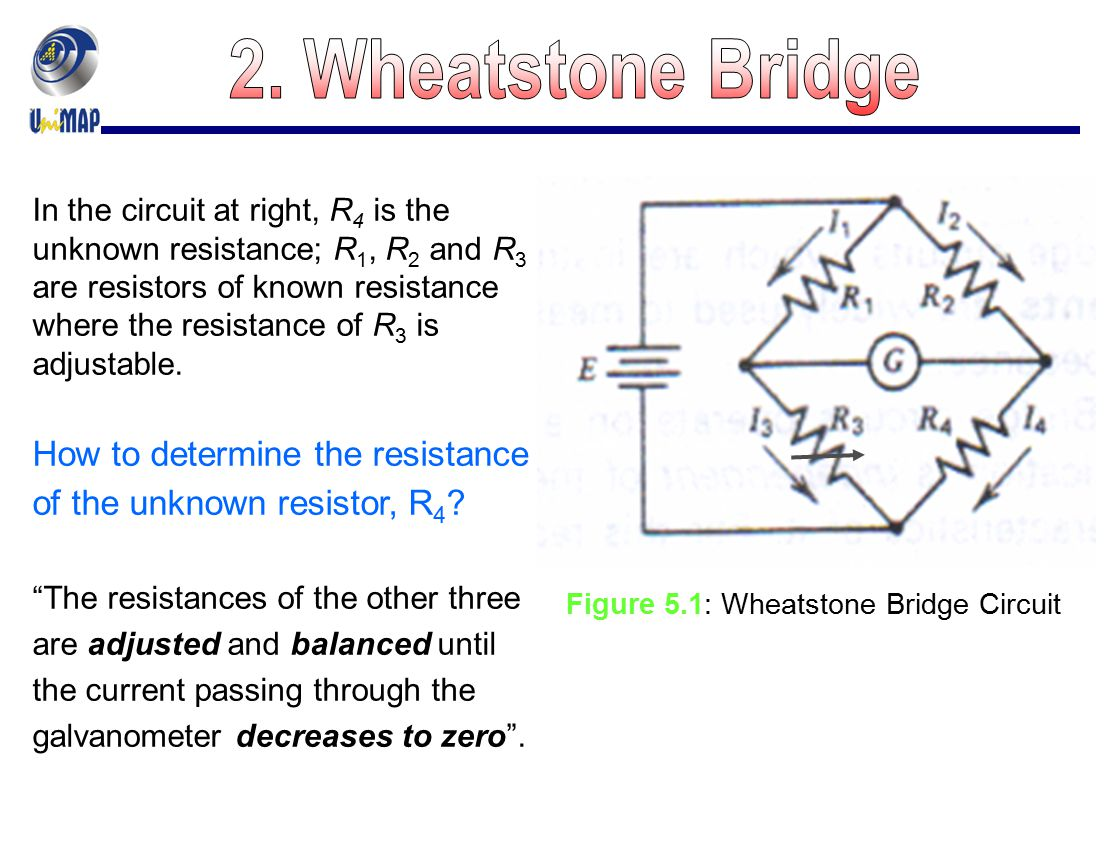 Figure 5.1: Wheatstone Bridge Circuit