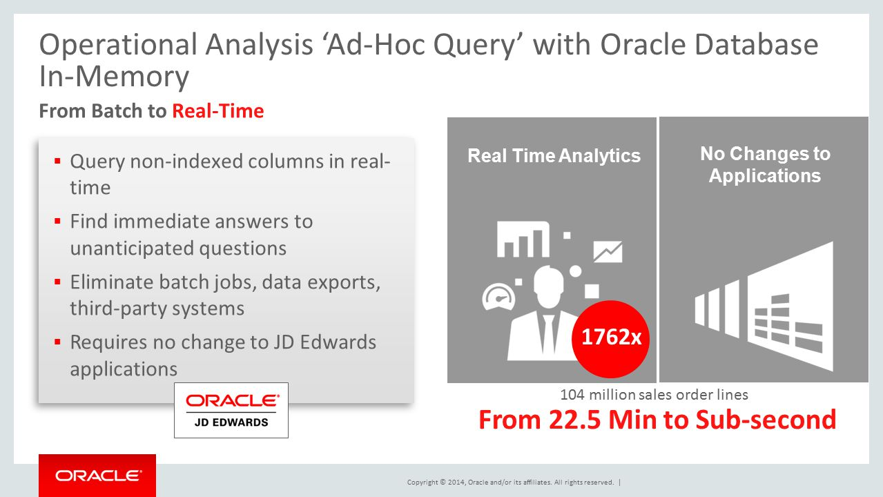 CON7643 Transform JD Edwards Applications - ppt download