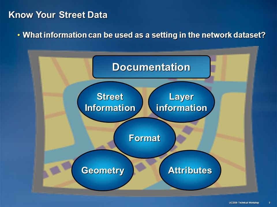 ArcGIS Extensions: Network Analyst - Data Preparation - ppt