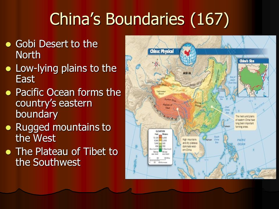 China's Boundaries (167) Gobi Desert to the North