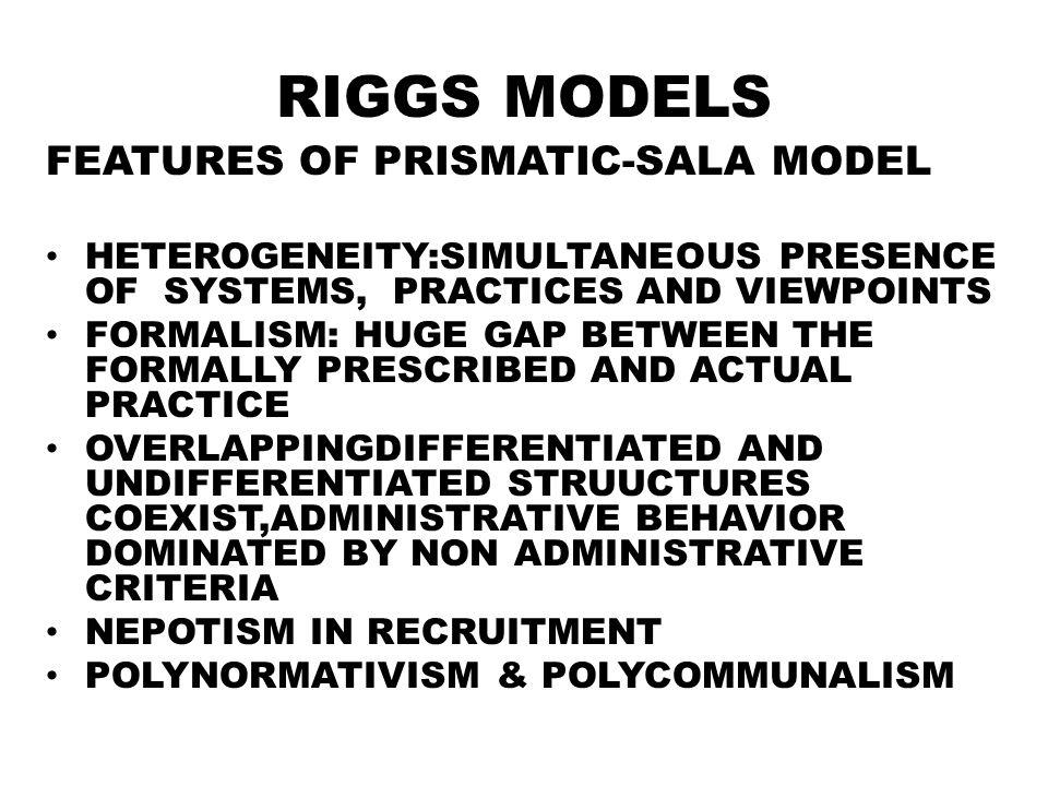 prismatic sala model