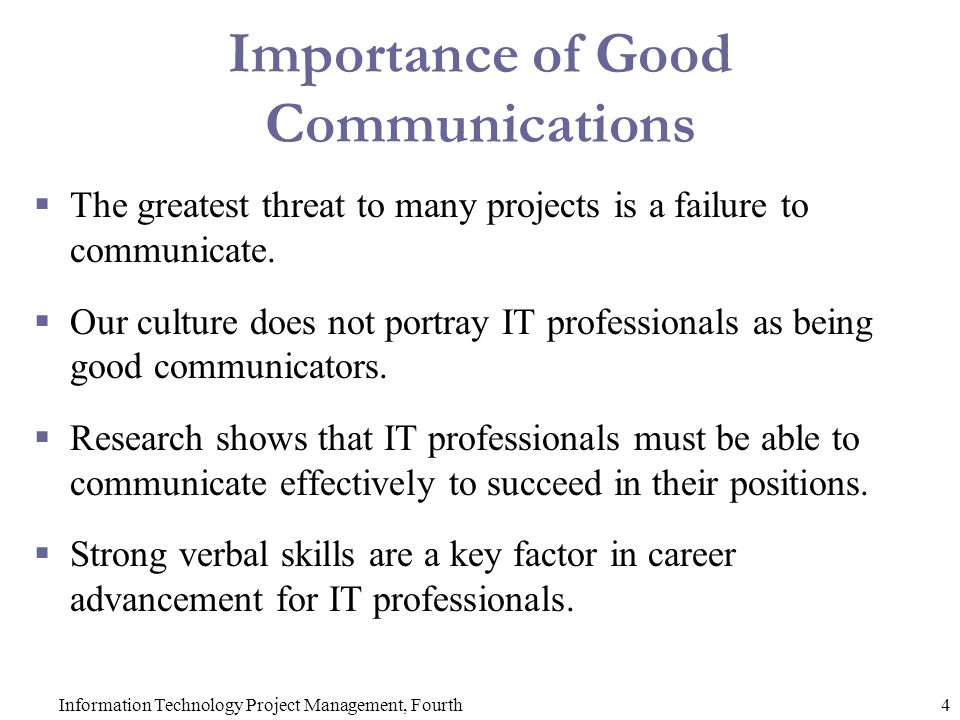 importance of communication in project management pdf