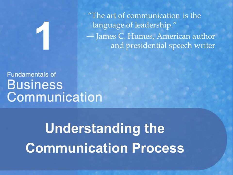 Understanding the Communication Process