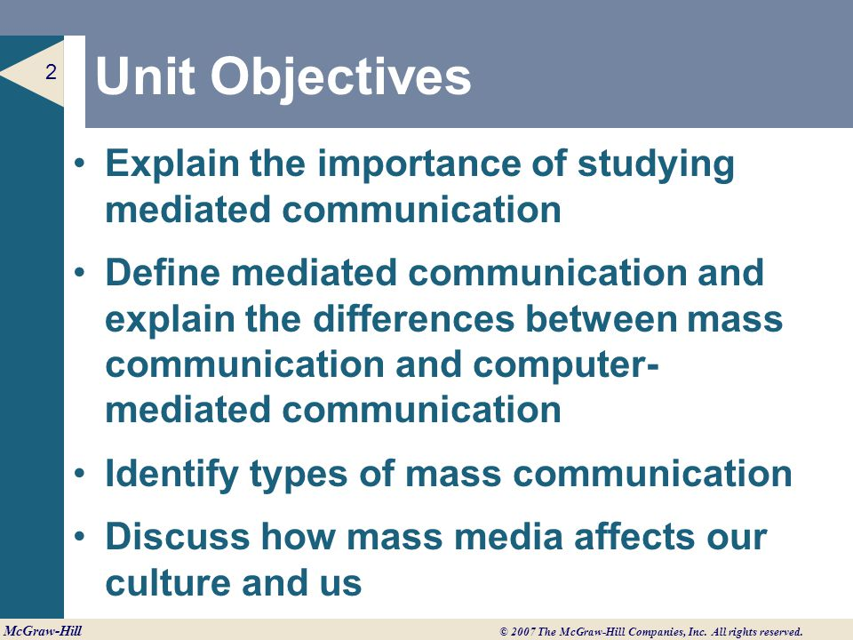 role of computer in mass communication