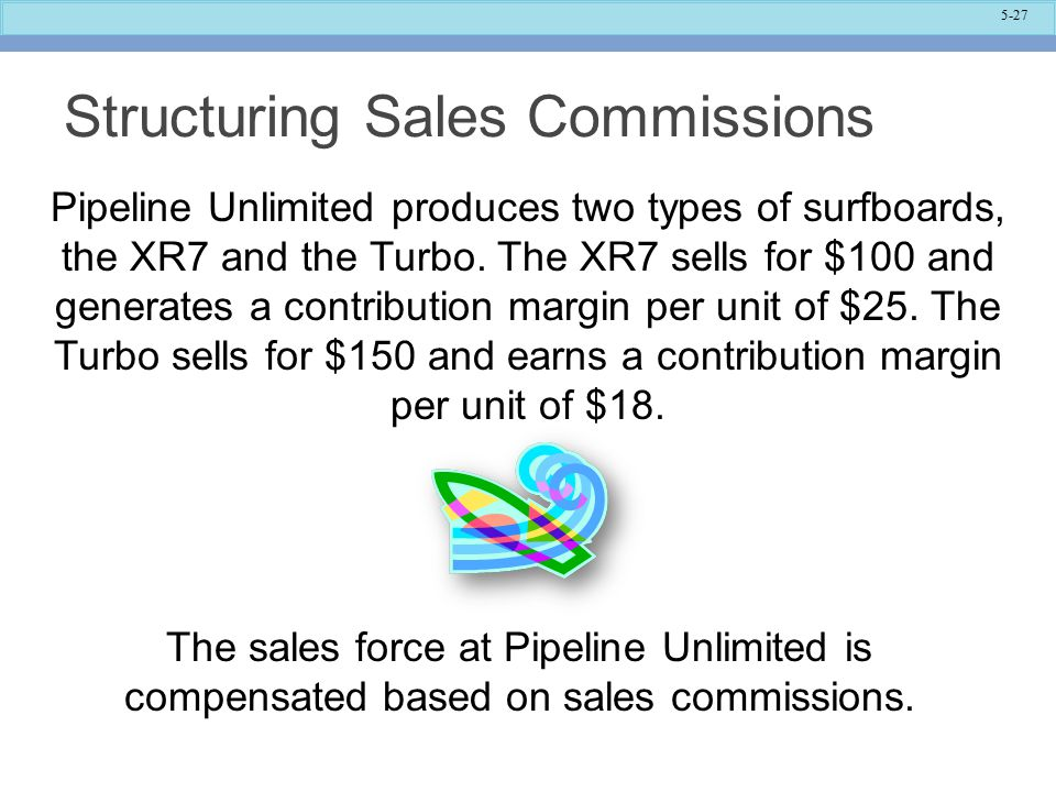 Structuring Sales Commissions