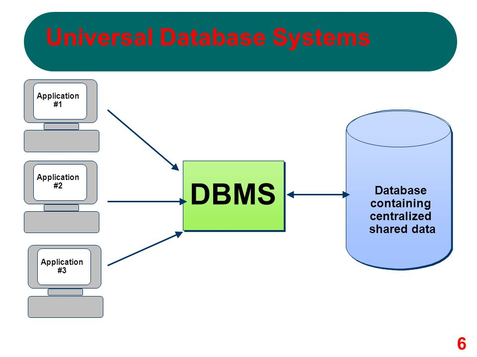 Universal Database Systems