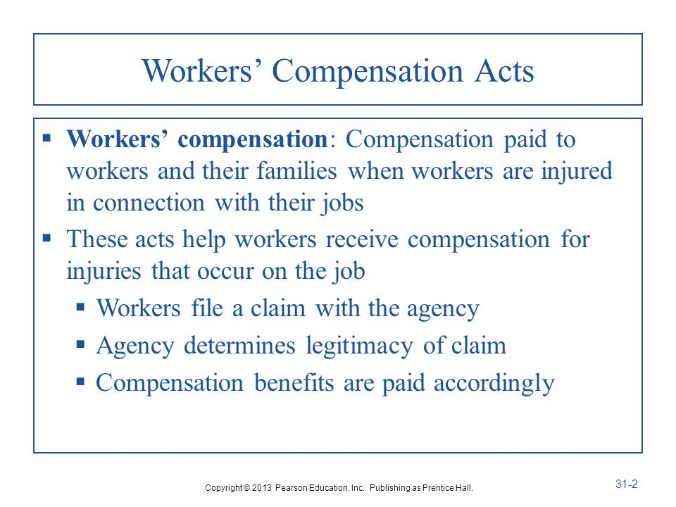 Workers' Compensation Acts
