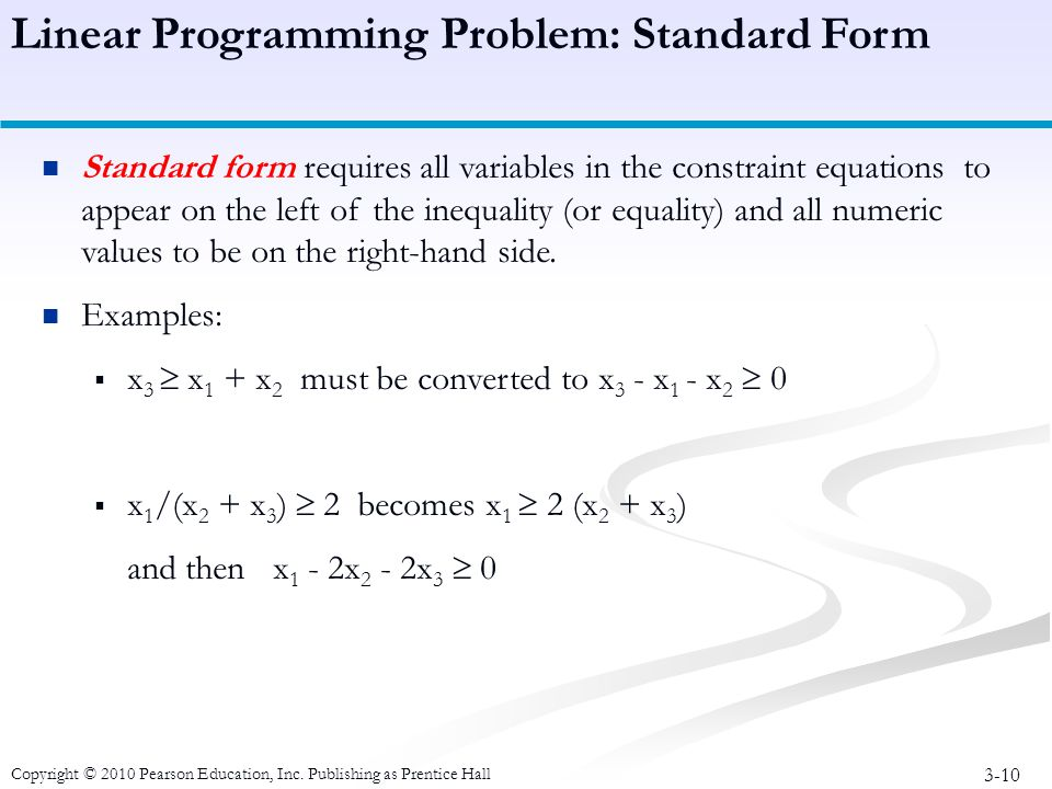 Linear Programming Computer Solution And Sensitivity Analysis Ppt