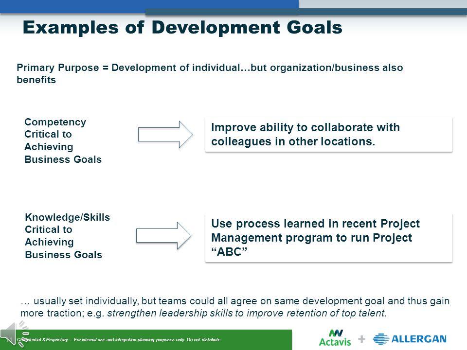 goals  u0026 objectives setting