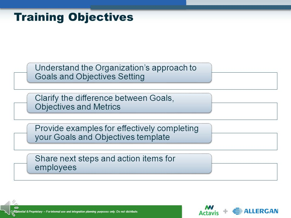 Goals & Objectives Setting - ppt video online download