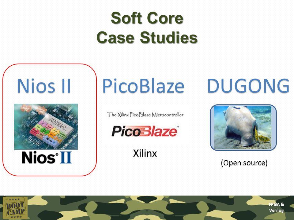 FPGA & Verilog Today's lecture: Soft core processors A short course