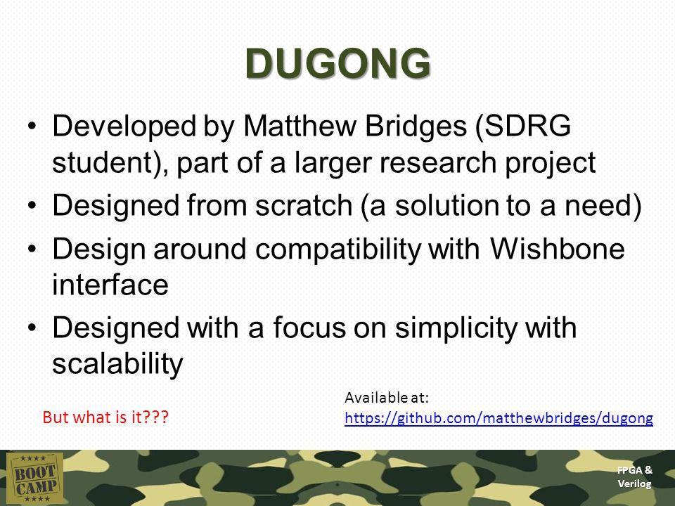 FPGA & Verilog Today's lecture: Soft core processors A short
