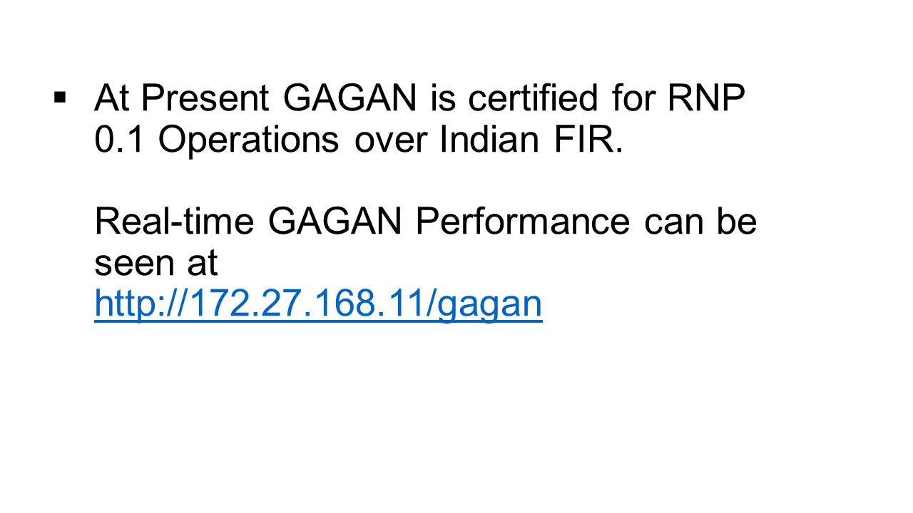 Introduction to GAGAN & GAGAN Enabled Receiver - ppt video