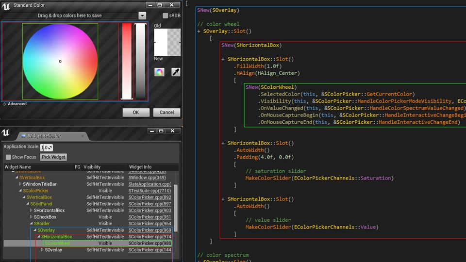 With a little bit of practice you will be able to visualize in your mind what Slate code will look like when rendered.