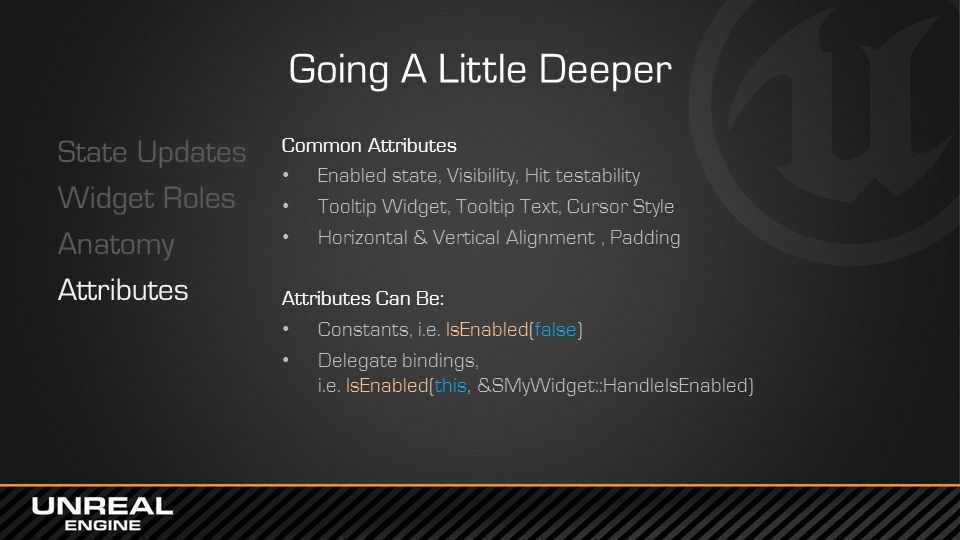 Going A Little Deeper State Updates Widget Roles Anatomy Attributes