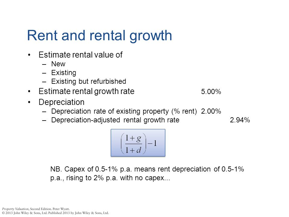 Property Appraisal Introduction  - ppt download