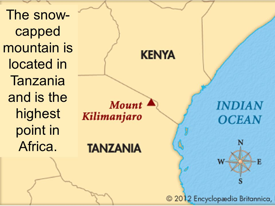 Where Is Mount Kilimanjaro On A Map Of Africa.Physical Geography Of Africa Ppt Video Online Download