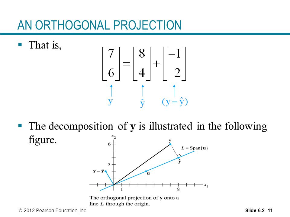 AN ORTHOGONAL PROJECTION
