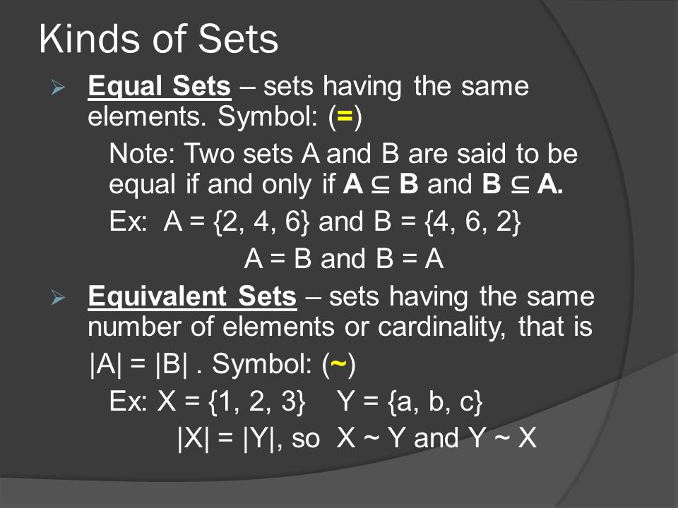 Set Theory Ppt Video Online Download