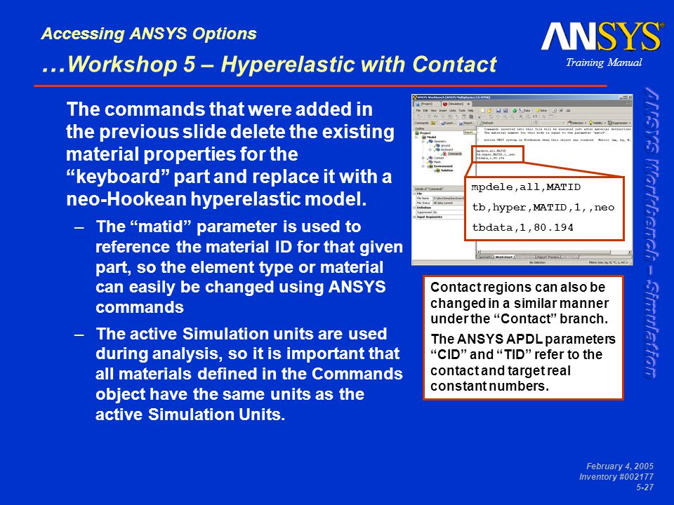 Accessing ANSYS Options - ppt video online download