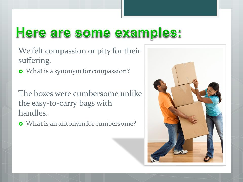 Definitions Restatements Examples Synonyms And Antonyms Ppt
