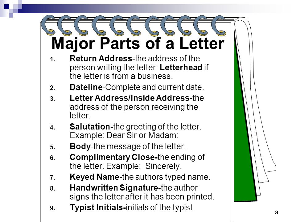 Components Of A Cover Letter from slideplayer.com