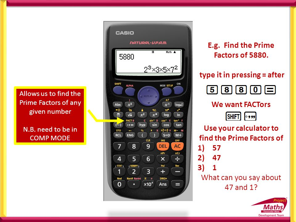 Project Maths: Use of Casio Calculators - ppt video online download