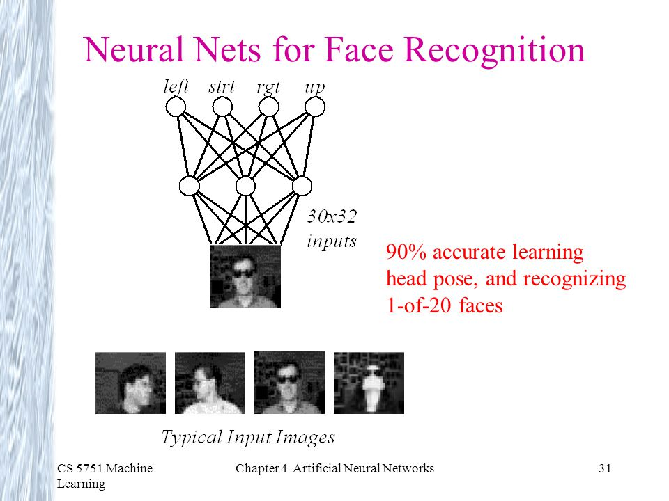 Neural Nets for Face Recognition