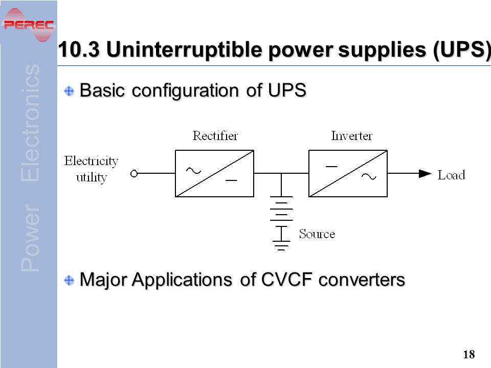 Application of power electronics ppt download 103 uninterruptible power supplies ups ccuart Image collections