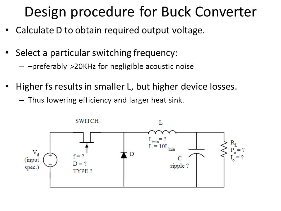 Dc to dc buck-boost converter circuit homemade.