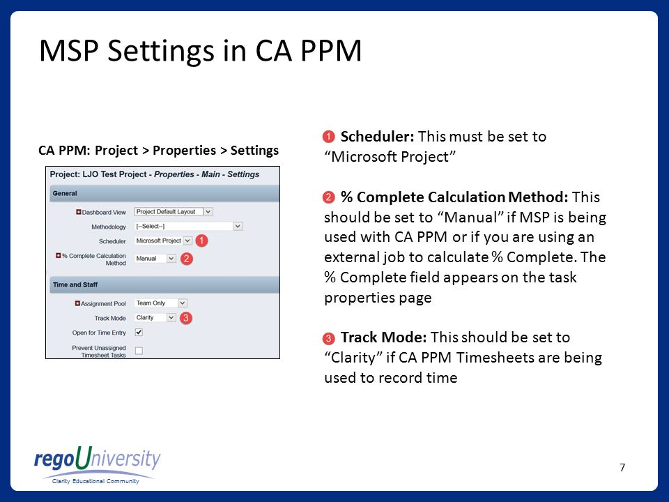 optimizing your configuration of msp with ca ppm ppt download rh slideplayer com CA Clarity Capacity Planning CA Clarity PPM Project Risk Question