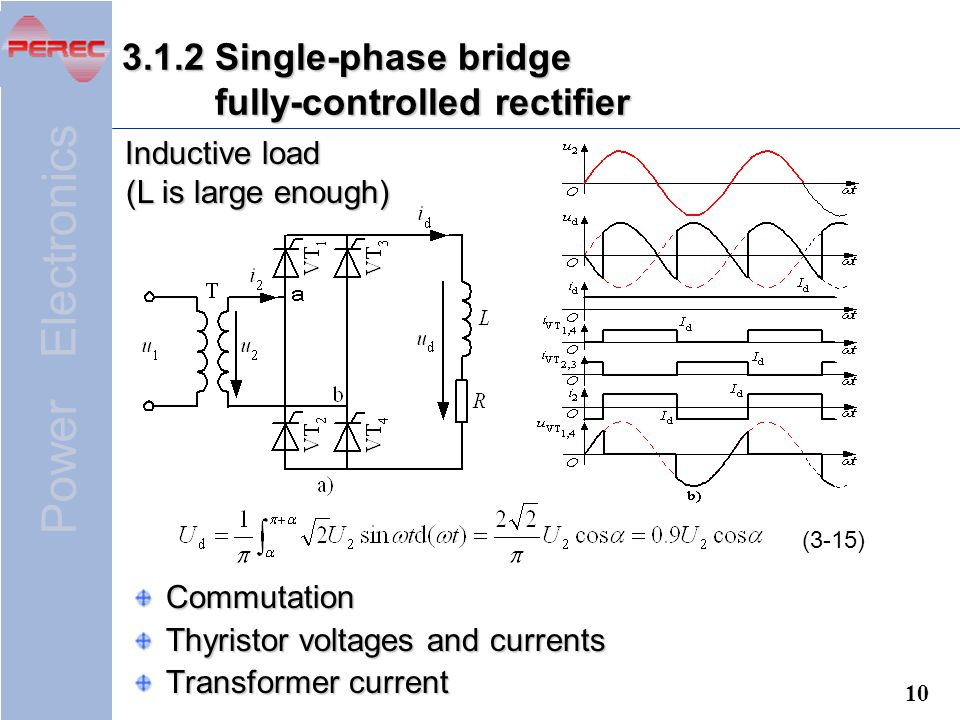power electronics chapter 3 ac to dc converters (rectifiers) ppt3 1 2 single phase bridge fully controlled rectifier