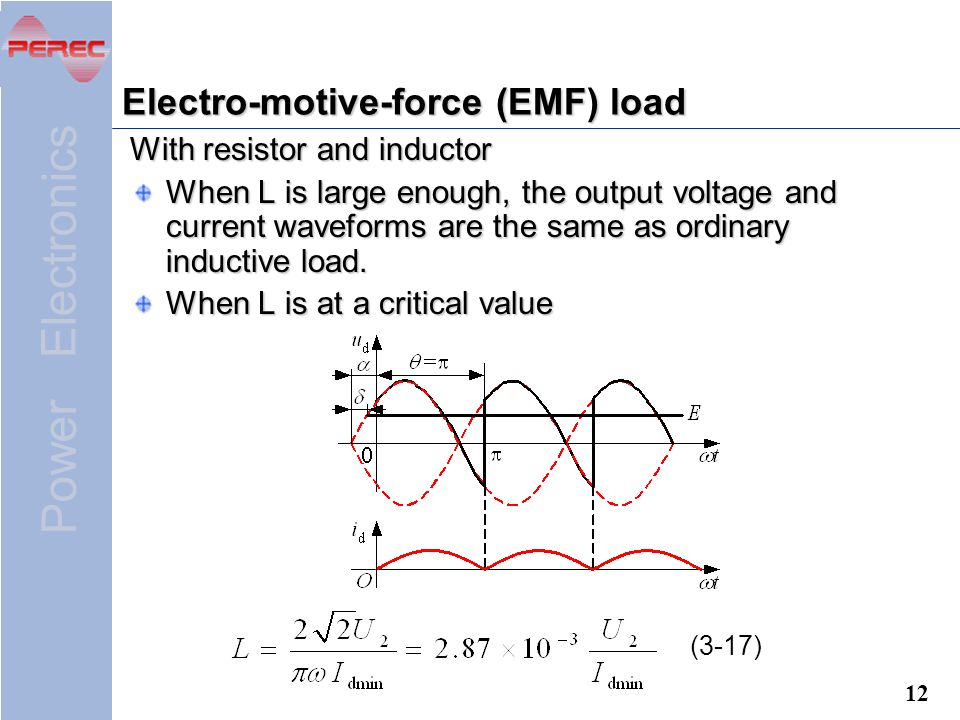 Electro-motive-force (EMF) load